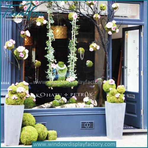 flower shop displays