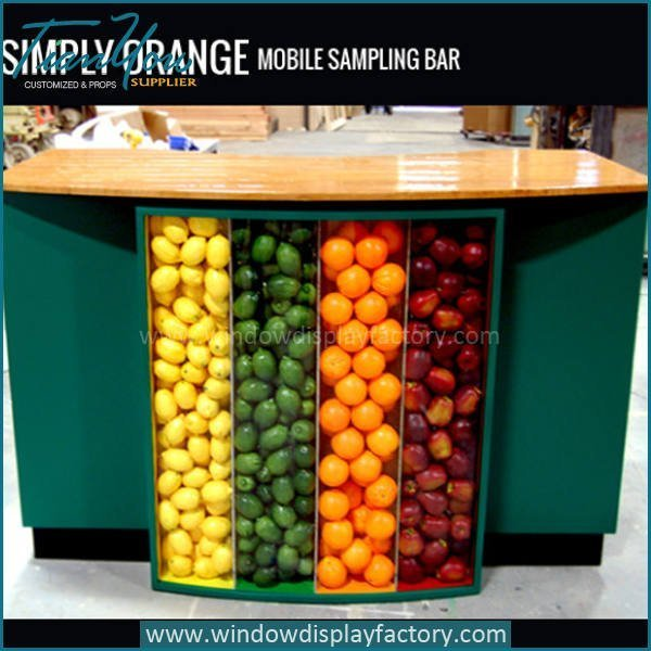 Adversting Commercial Fiberglass Display Counter Table