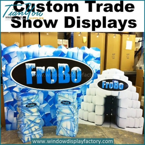 Various Style Custom Trade Show Display Props with Logo