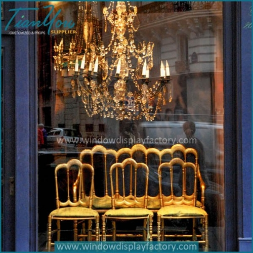 furniture window display