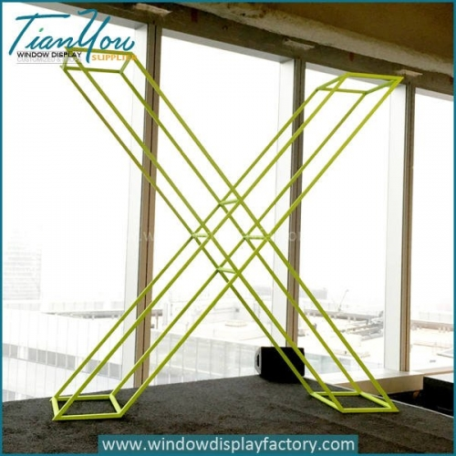 Giant Outdoor Decorative Metal X Letter Display