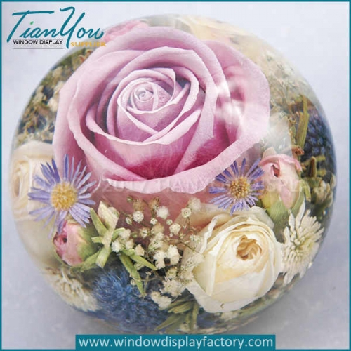 Custom flower paperweight manufacturers