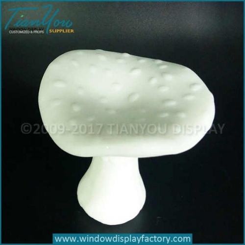 Polystone decorative fake mushrooms decor
