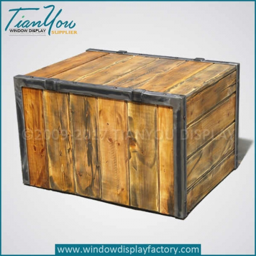 Custom the vintage wooden treasure chest for sale