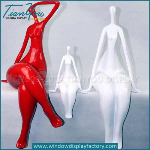 Abstract female sculpture modern art for sale