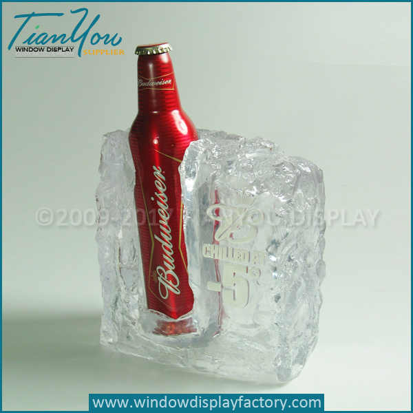 Led ice cubes lights for beer display